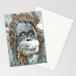 NewArt Animal Orang Stationery Cards
