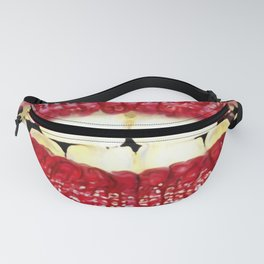 Red lips Fanny Pack