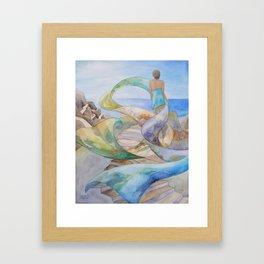 Dream Scarf Framed Art Print