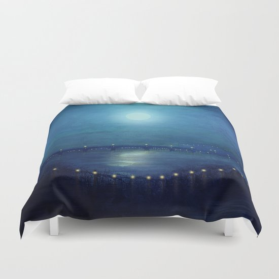 I'll Be Your Moon Duvet Cover