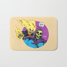 Ghost Rider and Skeletor Bath Mat