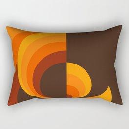 Amber Sun Rectangular Pillow