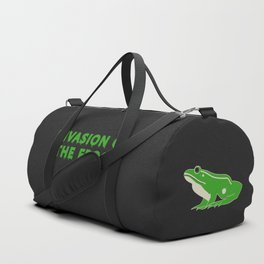 Invasion of the Frogs: Horror Classic Duffle Bag