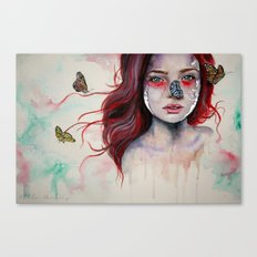 Where There Are Butterflies  Canvas Print