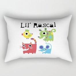 Lil' Rascal - Critters Rectangular Pillow