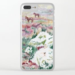 Wild chamomiles Clear iPhone Case