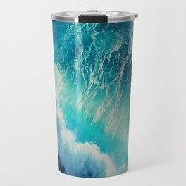 Waving Blue Travel Mug