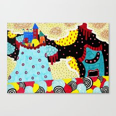 Monster Home Canvas Print