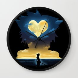 Sora Hearts Wall Clock