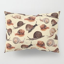 A Slew Of Snails Pillow Sham