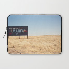 Welcome to Marfa Laptop Sleeve