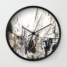 Champs Elysees Wall Clock