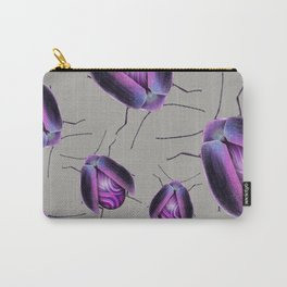 Purple Agate Beetle Carry-All Pouch