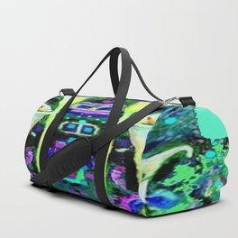 ARTY ART NOUVEAU CALLA LILIES DESIGN Duffle Bag