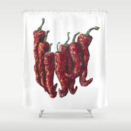 Hot Chili Shower Curtain