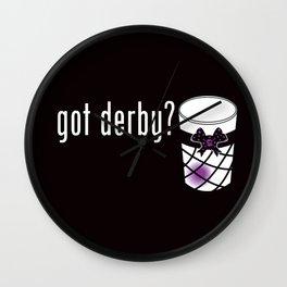 Got derby?  Wall Clock