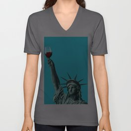 Liberty of drinking Unisex V-Ausschnitt