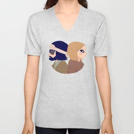 Margot and Richie Unisex V-Neck