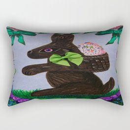 Easter treats and springtime fun Rectangular Pillow