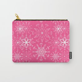 Dainties Bold Pink Carry-All Pouch