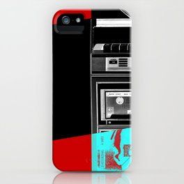 Music shadow iPhone Case