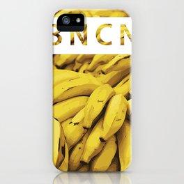 B A N A N A iPhone Case