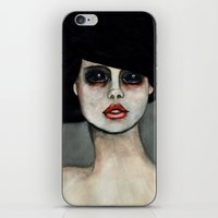 three of the possessed iPhone & iPod Skins featuring Possessed by Lisa Kelsall