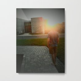 J-Sun Metal Print