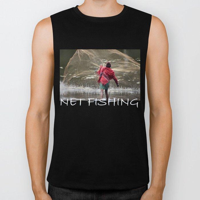 Net Fishing Biker Tank