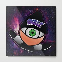 EyeTap in Space Metal Print