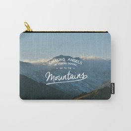 Go To The Mountains Carry-All Pouch