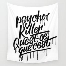 psycho Wall Tapestry
