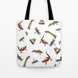 Let's go to the pond Tote Bag