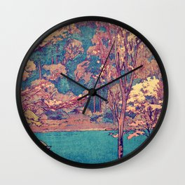 Birth of a Season Wall Clock