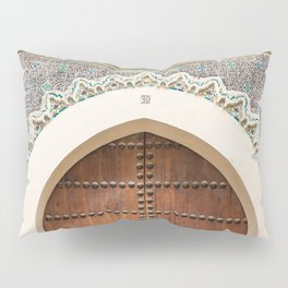 Doorway Number 30 - Fes, Morocco Pillow Sham