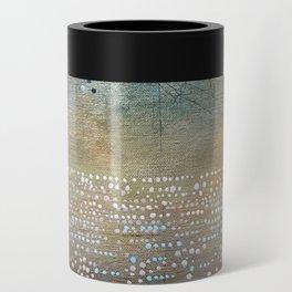 Landscape Dots - Turquoise Can Cooler