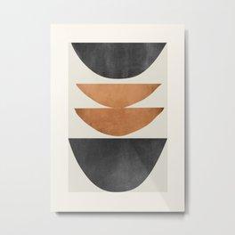 Minimal Abstract Art 40 Metal Print