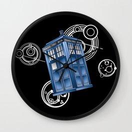 The Great Geometric Tardis Wall Clock
