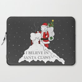 I believe in Santa Claws Laptop Sleeve