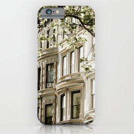 Between Columbus and Amsterdam iPhone Case