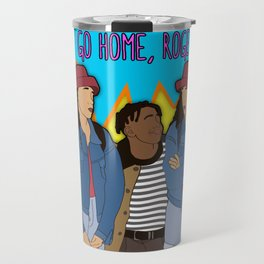 Go Home, Roger! By Vizzy Nakasso Travel Mug