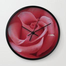 Pretty Pink Wall Clock