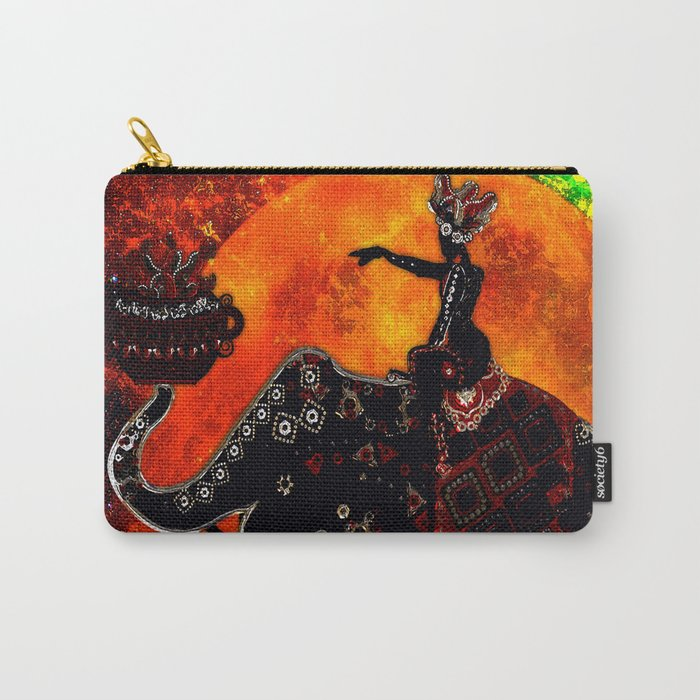 ELEPHANT JOURNEY Carry-All Pouch