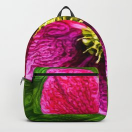 Hellebores Christmas Rose | Painting Backpack