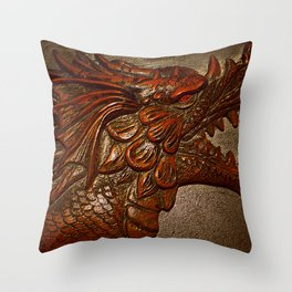 YEAR OF THE DRAGON.. Throw Pillow