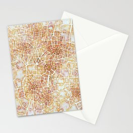 Antique Plans (Cityspace #181) Stationery Cards