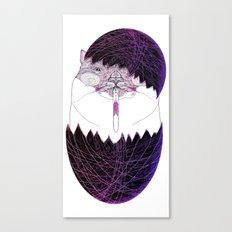 UZUMAKI KAT  HAPPY EASTER Canvas Print