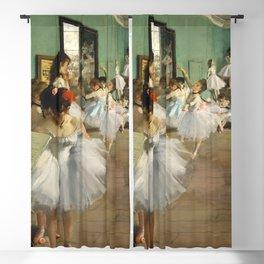 Degas Ballerinas - Dance Class Blackout Curtain