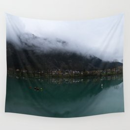 Reservoir On The Soca River Wall Tapestry