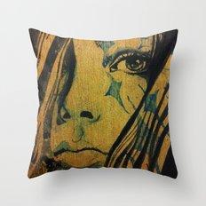 Azurite Throw Pillow